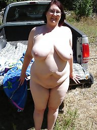 Posing, Bbw outdoor, Bbw amateur, Posing outdoor