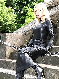 Boots, Leather, Latex, Pvc, Mature boots, Mature pvc