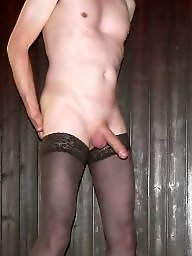 Stockings, Red