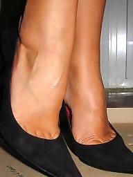 High heels, Heels, High, Amateur feet