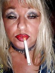 Smoking, Fingering, Finger, Blonde milf, Smoke, Fingered