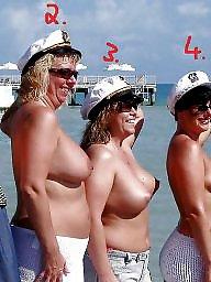 Beach, Public, Fuck, Big boobs, Big, Fucking
