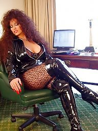 Smoking, Latex, Boots, Smoke, High