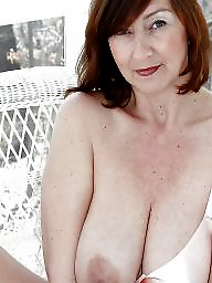 Mature big tits, Lady, Nipple, Mature nipples, Big tits mature