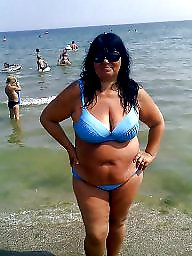 Bbw, Bikini, Beach, Fetish, Bbw beach, Bbw amateur