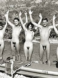 Group, Hairy, Groups, Vintage amateur