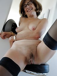 French, French mature, Mature stocking, Hot mature, Hairy stockings