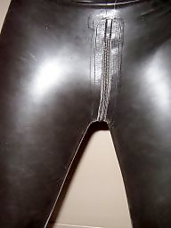 Latex, Hairy ass