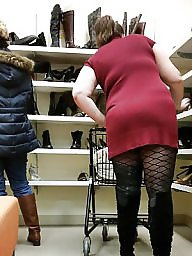 Shopping, Flash, My wife, Shop, Wife flashes, Voyeur upskirt