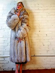 Fur, Lady, Coat, Ladies, Fur coat