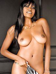 Ebony, Black tits, Ass
