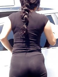See thru, Latinas, Leg, Ass latina
