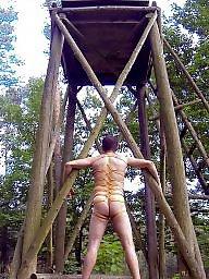 Bondage, Amateur bondage, Nudity