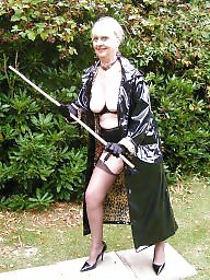 Pvc, Granny stockings, Mature pvc, Outdoor, Mature outdoors, Amateur granny