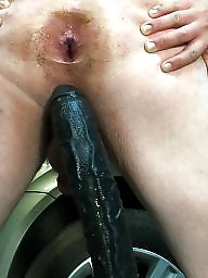 Gape, Gaping, Dicks, Anal toy, Anal sex