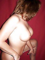 Nylons, Strip, Pants, Milf tits, Thong ass, Nylon