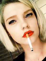 Smoking, Lipstick