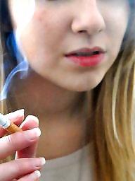 Smoking, Smoke, Teen babe