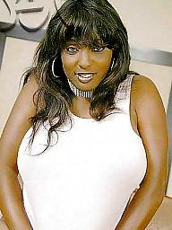 Ebony big boobs, Champagne