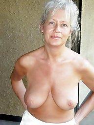 Mature big boobs