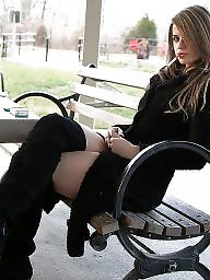 Smoking, Latex, Boots, Leather, Nylon, Nylons