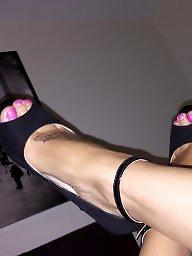 Heels, Foot, Toes