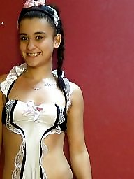 French, Maid, Costume, Upskirt teen, Maids, French teen