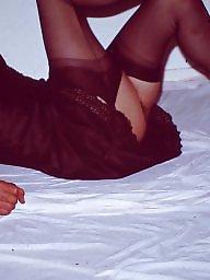 Slips, Vintage amateur, Vintage amateurs, Amateur stockings