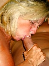 Granny blowjob, Boobs, Big granny, Big mature, Mature boobs, Mature blowjob