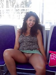 Bus, Flash, Whore, Public nudity