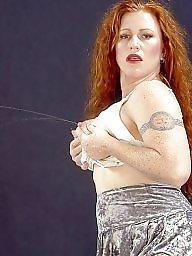 Stockings, Redhead, Redhead tits