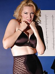 Girdle, Nylon stockings, Vintage nylon, Girdle stockings
