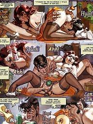 Comic, Comics, Cartoon comic, Cartoon comics