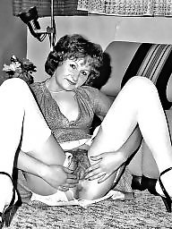 Nylon, Grannies, Granny nylon, Nylons, Granny stockings, Nylon stockings
