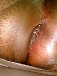 Anal, Panty, Ebony panties, Black anal, Anal amateur