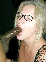 Sucking, Interracial blowjob