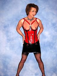 Leather, Corset