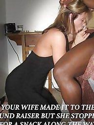 Interracial, Wives, Interracial captions, Milf interracial, Black milf, Black cock