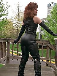 Latex, Leather, Boots, Pvc, Mature porn, Mature latex
