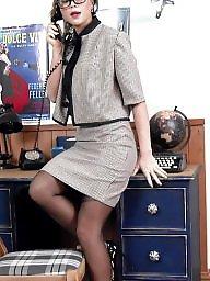 Nylon, Upskirt stockings, Stocking, Nylons