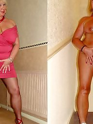 Dressed undressed, Mature dress, Dress, Undressing, Old mature, Undressed