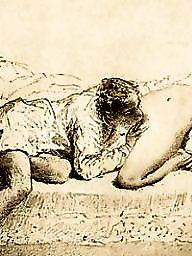 Drawings, Drawing, Draw, Erotic, Vintage cartoons