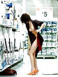 Mature slut, Shopping, Shop