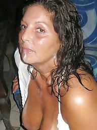 Cock, Facials, Milf facial, Amateur facial
