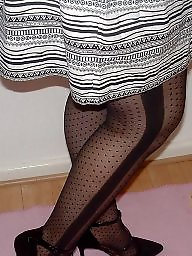Leggings, Legs, Milf stocking