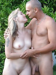 Nudist, Nudists, Couples, Mature beach, Couple, Mature couple