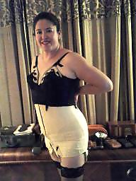 Corset, Girdle, Corsets, Vintage amateur, Vintage amateurs, Girdle stockings