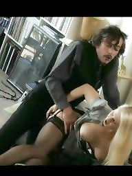 Secretary, Sex, German, Black stocking