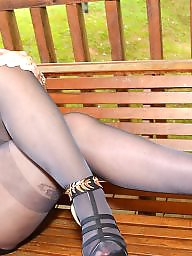 Mature pantyhose, Grannies, Stocking, Granny pantyhose, Granny, Granny stockings