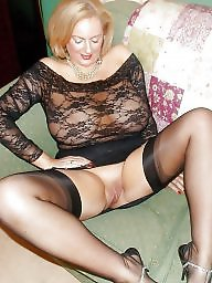 Mature stockings, Granny stockings, Mature stocking, Granny stocking, Mature granny
